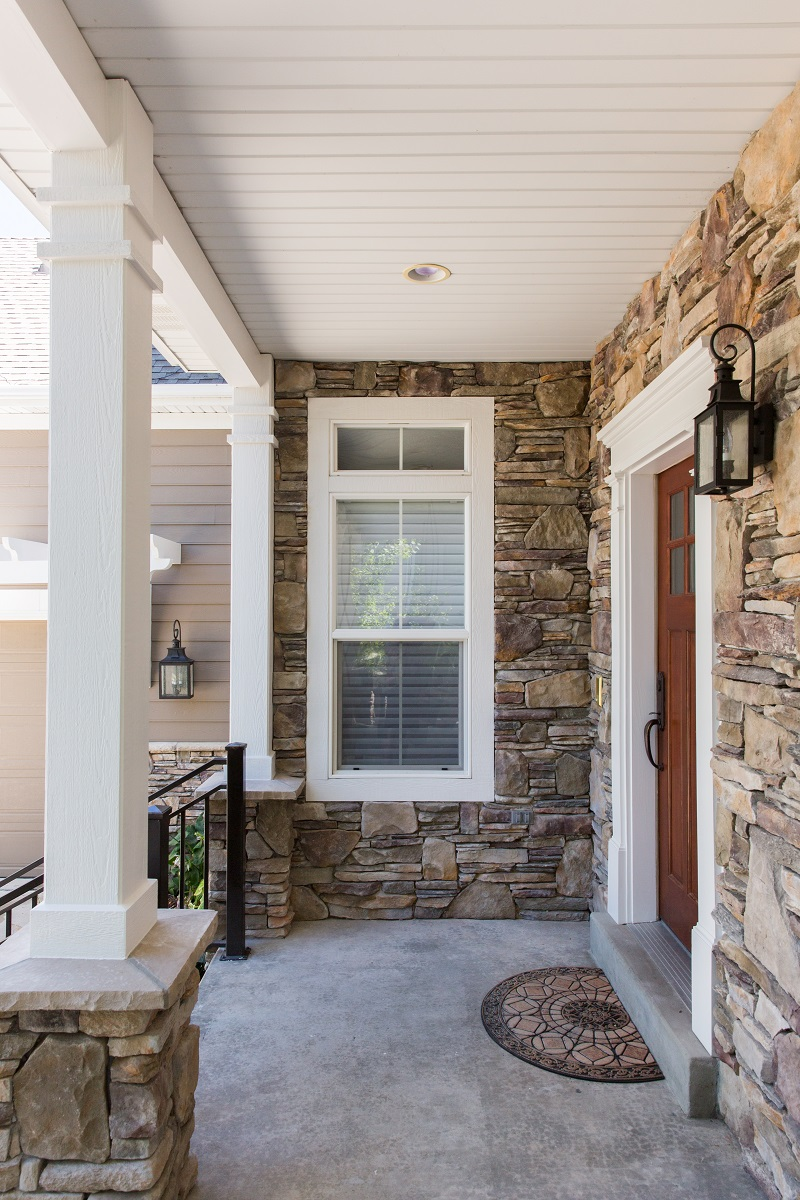 After_Exterior_Stone Homes_Stone Designs_Home Exterior | Renovation Design Group