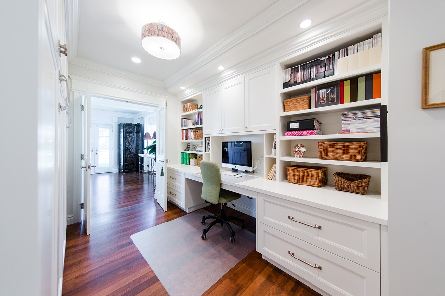 Office remodel with french doors | Renovation Design Group