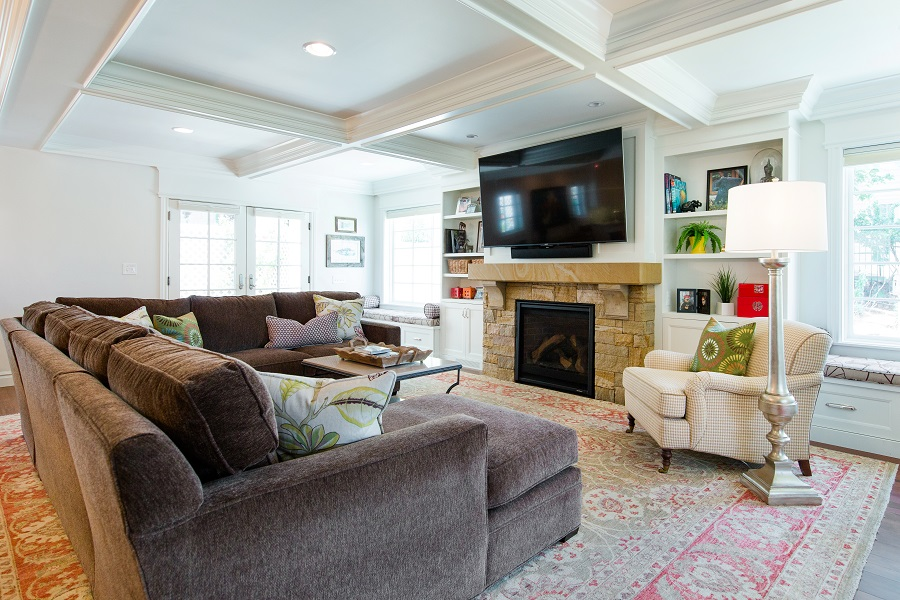 Great room family room | Renovation Design Group