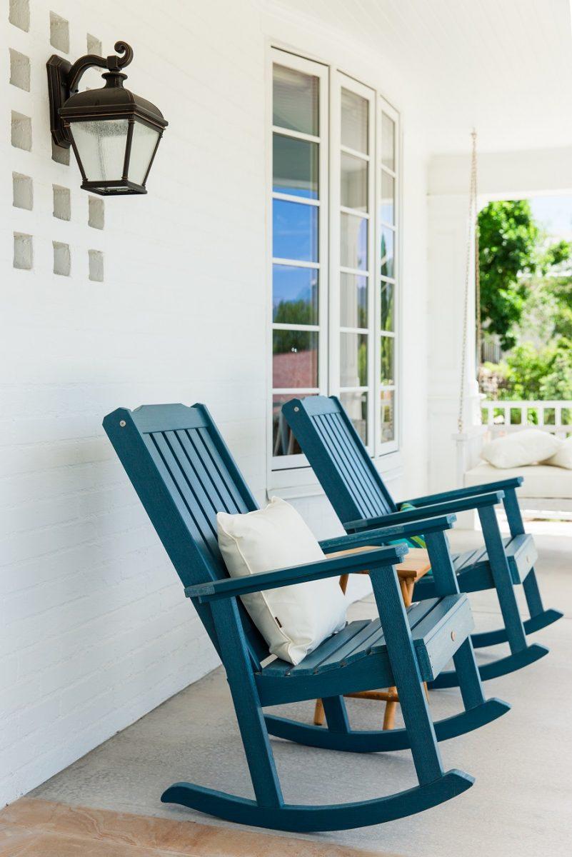 exterior two-story home porch | Renovation Design Group