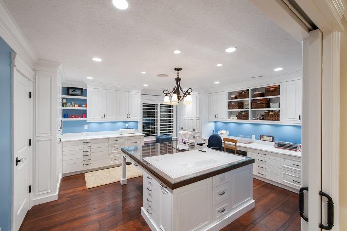 After_Interior_Craft Room_Utah Remodeling | Renovation Design Group