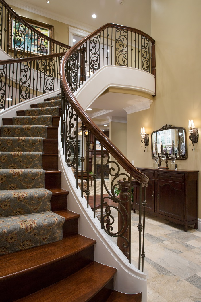 After_Interior_Spiral Staircase_Renovation Design Group | Renovation Design Group