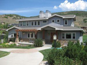 Before Home Ecxterior Remodel shake Shingles | Renovation Design Group