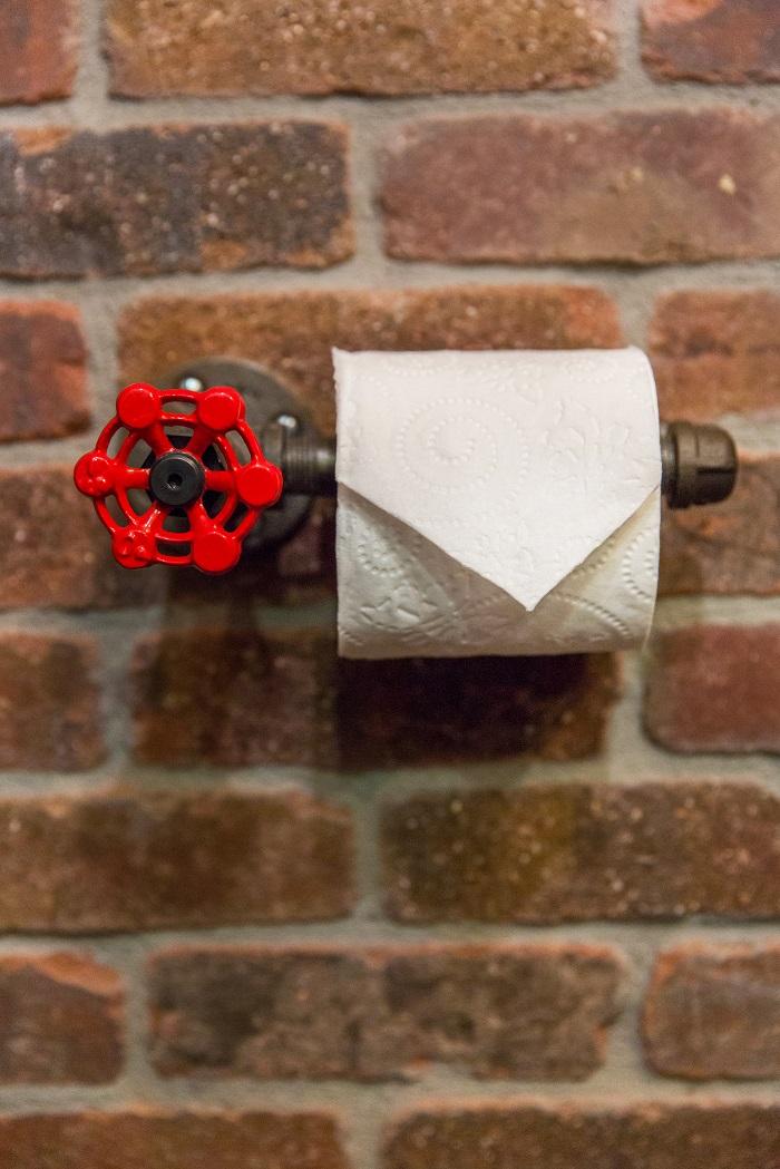 After_Interior Renovation_Bathroom_Industrial Accents | Renovation Design Group