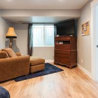 Basement bedroom in bungalow home complete