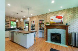 After_Interior Remodels_Kitchen Fireplace_Craftsman Design   Renovation Design Group