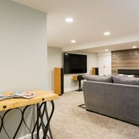 After_Interior_Basement Remodel_Bungalow | Renovation Design Group