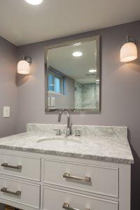 After_Interior_Bathroom Remodel_Bungalow | Renovation Design Group