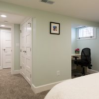 basement bedroom Bungalow | Renovation Design Group