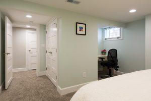 basement bedroom Bungalow   Renovation Design Group