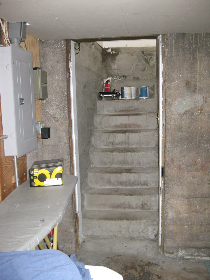 Before basement remodel | Renovation Design Group