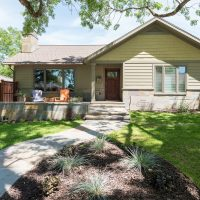 After Exterior Front Porch Remodel Outside Spaces Blaine Avenue Addition Curb Appeal | Renovation Design Group