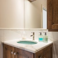 After Interior Bathroom Small Bathroom Powder Room Remodel Renovation Design Group