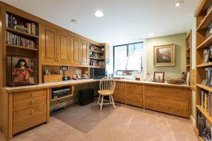After Interior home office Remodel Basement Remodel Blaine Avenue Addition | Renovation Design Group