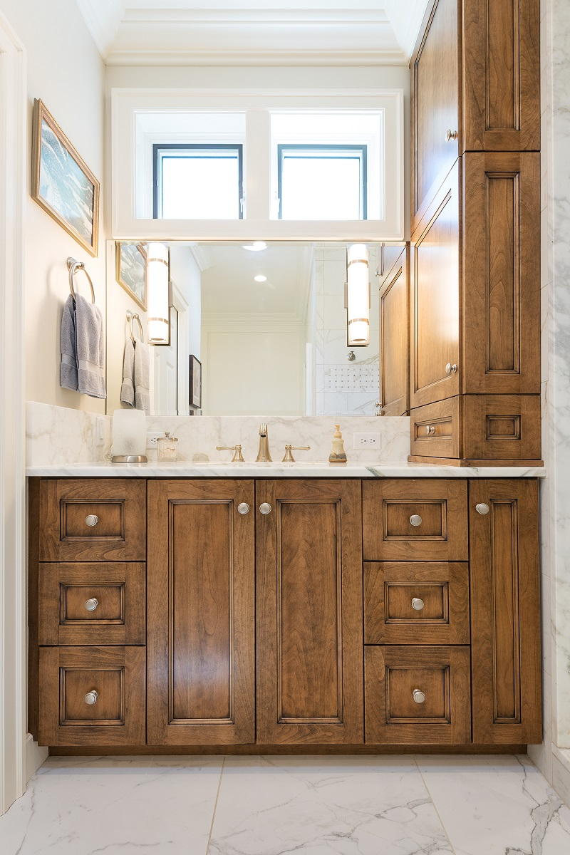 After Interior master bath suite Remodel Basement Remodel Blaine Avenue Addition | Renovation Design Group