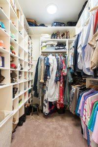 After Interior walk in master closet Remodel Basement Remodel Blaine Avenue Addition | Renovation Design Group