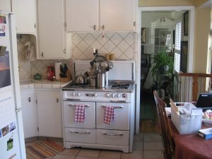 BEFORE Interior Kitchen Remodel Basement Remodel Blaine Avenue Addition | Renovation Design Group