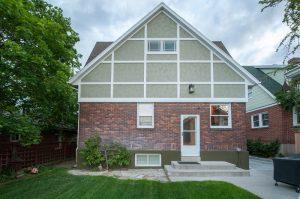 Exterior Remodeling_Back of House_Tudor Exterior Remodels | Renovation Design Group