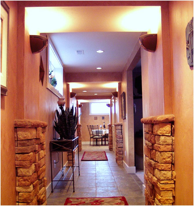 Basement Remodel Craftsman Interior | Renovation Design Group