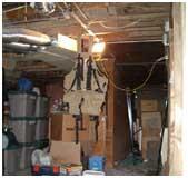 Basement Family Room Before | Renovation Design Group