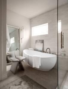 Freestanding tub, master suite, master bathroom