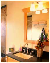Small Bathroom Remodel Cottage Home and Design | Renovaiton Design Group