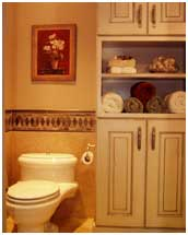 Country Home design bathroom | Renovation Design Group