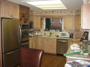 Before Kitchen Melinda Drive   Renovation Design Group