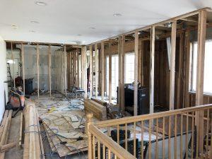 Jon & Marisa's Remodel Construction phase Concrete | Renovation Design Group