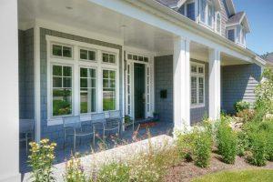 Cape Home Front Door Design | Renovation Design Group