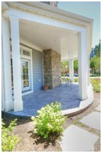 Cape Home Design Porch Cape Home Design | Renovation Design Group