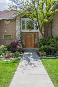 Briarcreek Contemporary, Front Exterior Remodel by Renovation Design