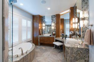 Briarcreek Contemporary, Interior Main Master Bath Remodel by Renovation Design