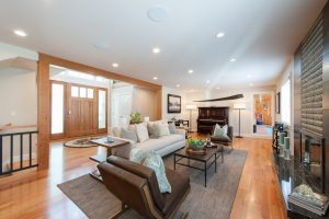 Briarcreek Contemporary, Interior Main Great Room Remodel by Renovation Design