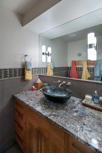 Briarcreek Contemporary, Interior Pool Bathroom Remodel by Renovation Design