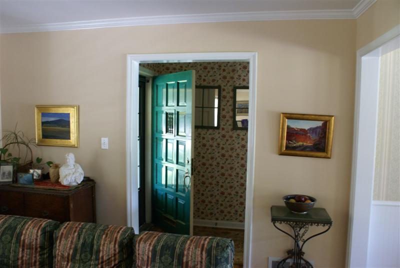 Front Entry BeforeAfter_Interior Remodel_Living Room_Family Room Design resized | Renovation Design Group