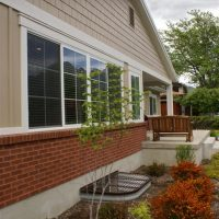Side Exterior Windows Ranch Home | Renovation Design Group
