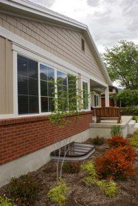 Side Exterior Windows Ranch Home | Renovation Design Group