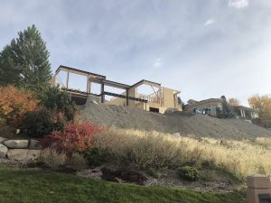 Hillside Villa, New construction in Salt Lake City Home build, JAckson & LEroy COntractors with Renovation Design Group | Renovation Design Group