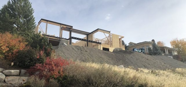 Hillside Villa: Taking Shape!