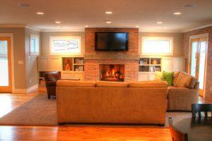 Modern Great Room Design | Renovation Design Group