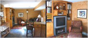 Family Room Remodel in basement Family Room Remodel in basement | Renovation Design Group