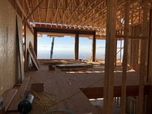 Arcched ceiling framed, roofing, framing new home, roof options, stick frame, pre-maunfactured roofs, trusses, Jackson & Leroy, Salt Lake Homes | Renovation Design Group