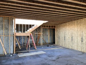 Hillside Villa, Floor Joists, Framing, New construction | Renovation Design Group