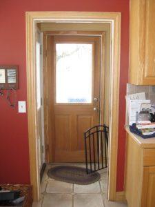 Interior Before Existing Mudroom | Renovation Design Group