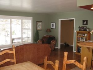 Before Living Room Remodel 2500 East Post War | Renovation Design Group