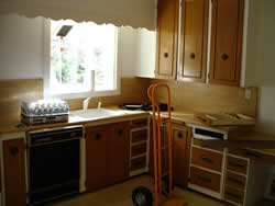 Picture of kitchen before renovation | Renovation Design Group