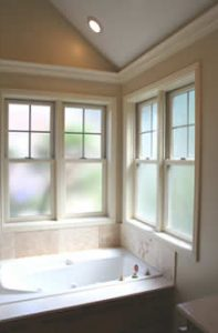 Beautiful New Master Bath in Second Story addition of tudor | Renovation Design Group