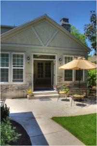 East Cape back yard patio Garage Remodel | Renovation Design Group