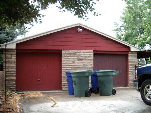 Before Garage Renovation Tudors | Renovation Design Group